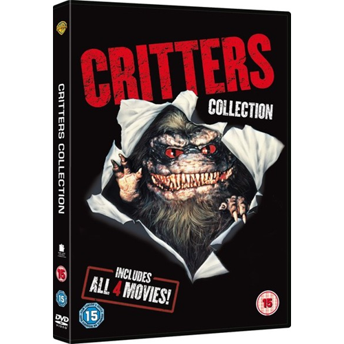 Critters 1-4 Collection (UK-import) (DVD)