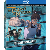Produktbilde for The Legend Of Korra - Book One: Air (BLU-RAY)