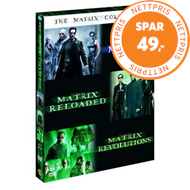 Produktbilde for The Matrix Collection (DVD)