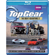 Top Gear - The Great Adventures - Vol. 3 (UK-import) (BLU-RAY)