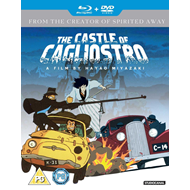 The Castle Of Cagliostro (UK-import) (Blu-ray + DVD)