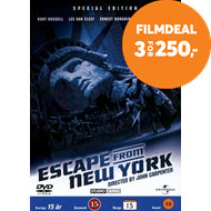 Produktbilde for Escape From New York - Special Edition (DK-import) (DVD)