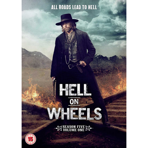 Hell On Wheels - Sesong 5 Del 1 (UK-import) (DVD)