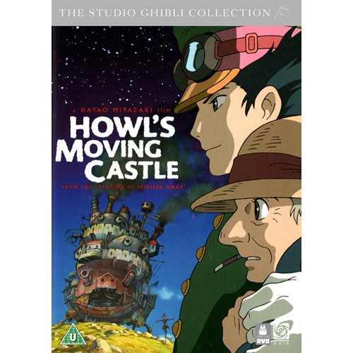 Howl's Moving Castle (UK-import) (DVD)
