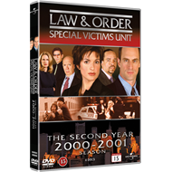 Law & Order: Special Victims Unit - Sesong 2 (DVD)