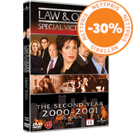 Produktbilde for Law & Order: Special Victims Unit - Sesong 2 (DVD)