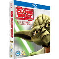 Star Wars - The Clone Wars - Sesong 2 (UK-import) (BLU-RAY)