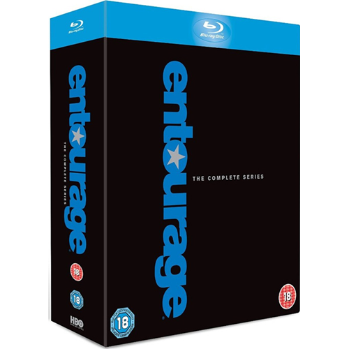Entourage - The Complete Series (UK-import) (BLU-RAY)