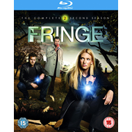 Fringe - Sesong 2 (UK-import) (BLU-RAY)