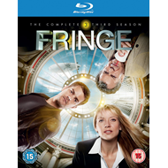 Fringe - Sesong 3 (UK-import) (BLU-RAY)