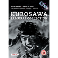 Kurosawa - The Samurai Collection (UK-import) (DVD)