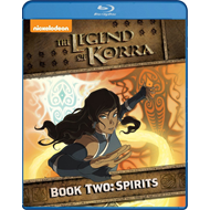 Produktbilde for The Legend Of Korra - Book Two: Spirits (BLU-RAY)
