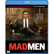 Mad Men - Sesong 3 (BLU-RAY)