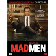 Mad Men - Sesong 3 (DVD)