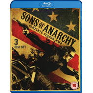 Sons Of Anarchy - Sesong 2 (UK-import) (BLU-RAY)