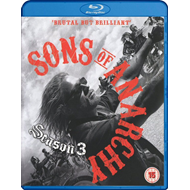 Sons Of Anarchy - Sesong 3 (UK-import) (BLU-RAY)