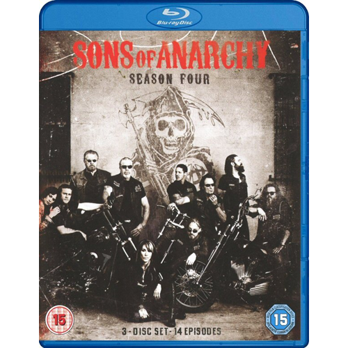 Sons Of Anarchy - Sesong 4 (UK-import) (BLU-RAY)