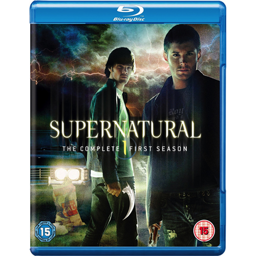 Supernatural - Sesong 1 (UK-import) (BLU-RAY)