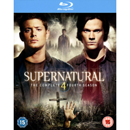 Supernatural - Sesong 4 (UK-import) (BLU-RAY)