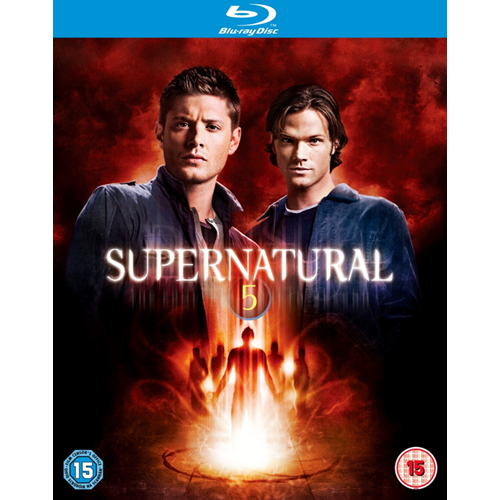 Supernatural - Sesong 5 (UK-import) (BLU-RAY)