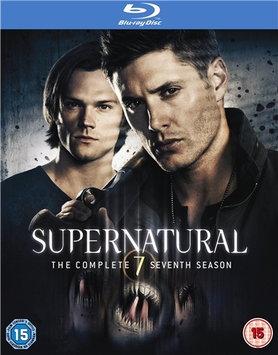 Supernatural - Sesong 7 (UK-import) (BLU-RAY)