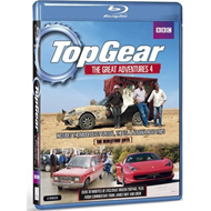 Top Gear - The Great Adventures - Vol. 4 (UK-import) (BLU-RAY)
