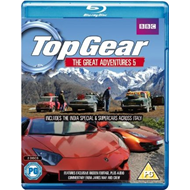 Top Gear - The Great Adventures - Vol. 5 (UK-import) (BLU-RAY)
