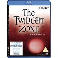 The Twilight Zone - Sesong 2 (UK-import) (BLU-RAY)