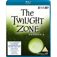 The Twilight Zone - Sesong 3 (UK-import) (BLU-RAY)