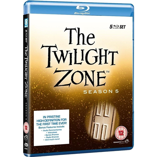 The Twilight Zone - Sesong 5 (UK-import) (BLU-RAY)