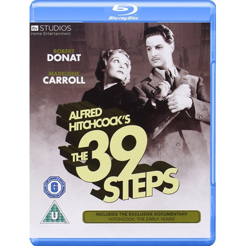 The 39 Steps (UK-import) (BLU-RAY)