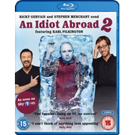 Karl Pilkington: An Idiot Abroad - Sesong 2 (UK-import) (BLU-RAY)