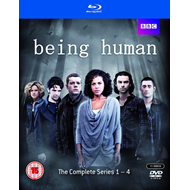 Being Human - Sesong 1 - 4 (UK-import) (BLU-RAY)