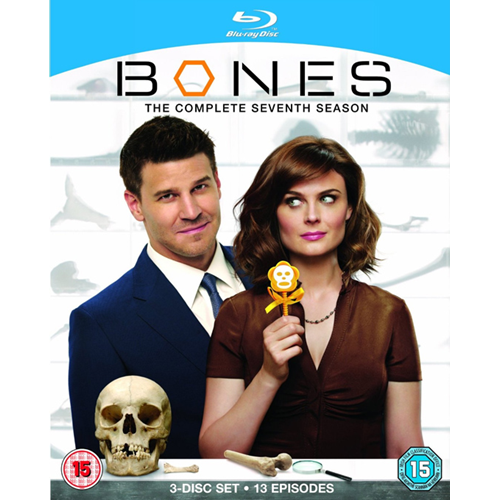 Bones - Sesong 7 (UK-import) (BLU-RAY)