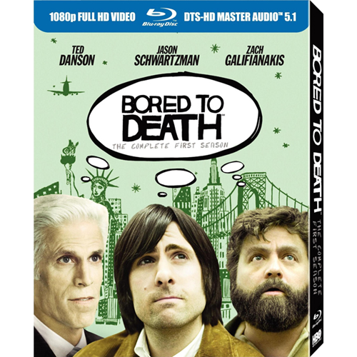Bored To Death - Sesong 1 (BLU-RAY)