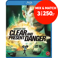 Produktbilde for Clear And Present Danger (BLU-RAY)
