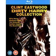 The Dirty Harry Collection (UK-import) (BLU-RAY)