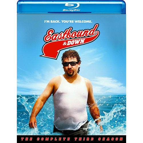 Eastbound & Down - Sesong 3 (UK-import) (BLU-RAY)