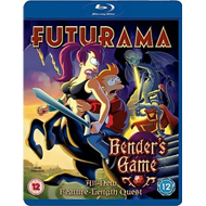 Futurama - Bender's Game (UK-import) (BLU-RAY)