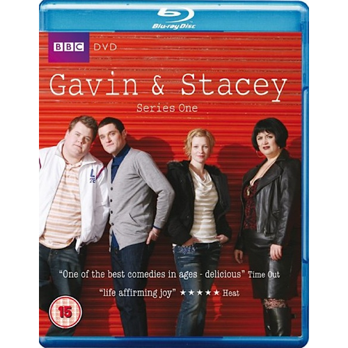 Gavin & Stacey - Sesong 1 (UK-import) (BLU-RAY)