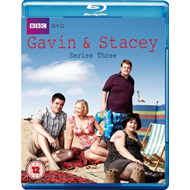 Gavin & Stacey - Sesong 3 (UK-import) (BLU-RAY)
