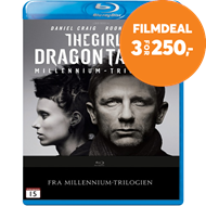 Produktbilde for The Girl With The Dragon Tattoo (BLU-RAY)
