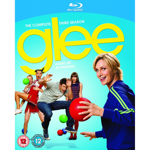 Glee - Sesong 3 (UK-import) (BLU-RAY)