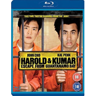 Harold And Kumar Escape From Guantanamo Bay (UK-import) (BLU-RAY)