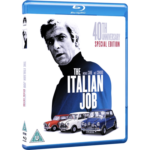 The Italian Job - 40th Anniversary Edition (UK-import) (BLU-RAY)