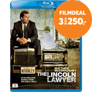 Produktbilde for The Lincoln Lawyer (BLU-RAY)