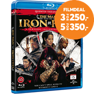 Produktbilde for The Man With The Iron Fists (DK-import) (BLU-RAY)