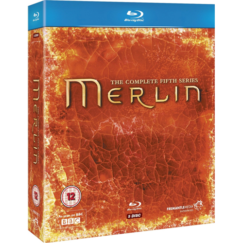 Merlin - Sesong 5 (UK-import) (BLU-RAY)