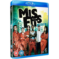 Misfits - Sesong 4 (UK-import) (BLU-RAY)