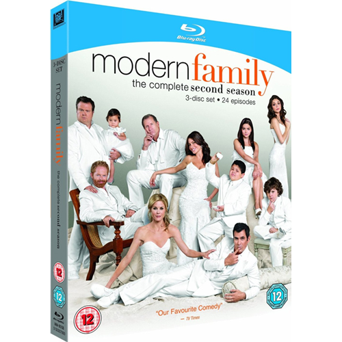 En Moderne Familie - Sesong 2 (UK-import) (BLU-RAY)
